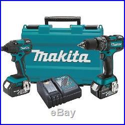 18V LXT Brushless Cordless 2 Pc 4.0 Ah Combo Kit Makita XT248M New
