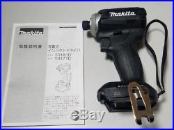 2018 Latest Model MAKITA TD171DZB impact driver black TD171DZ 18V body only F/S