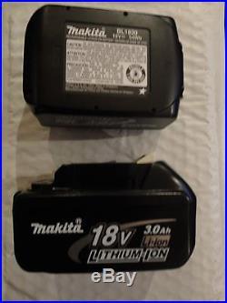2Pc Genuine Makita BL1830-2 18V Volt LXT Lithium Ion Battery Packs 3.0 AH BL1830