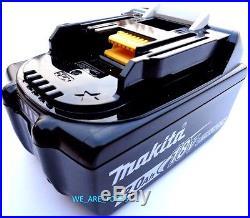 2 NEW 18V GENUINE BL1830B-2 Makita Batteries 3.0 AH Fuel Gauge Replaced BL1830