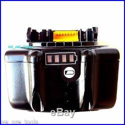 (2) New Genuine Makita BL1860B-2 18V Batteries 6.0 AH LED Gauge 18 Volt LXT