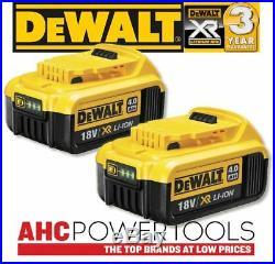 2 X Dewalt DCB182 18V XR li-ion Battery 4.0Ah, Brand New Genuine UK CE