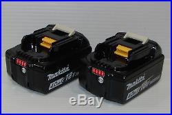 2pc Genuine Makita 4.0Ah BL1840B 18V Volt LXT Lithium-Ion Battery BL1840B-2