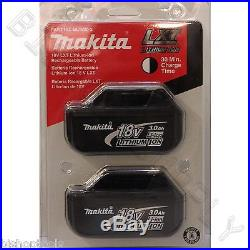 2pc Genuine Makita BL1830 18V LXT Lithium-Ion Battery Pack 3.0Ah NEW BL1830-2