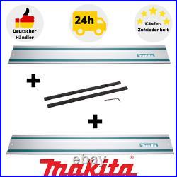 2xMakita 199141-8 Führungsschiene 1,5m+Makita Führungsschienenverbinder 198885-7