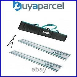 2x Makita 1.0m Guide Rail for SP6000 Plunge Saws + Carry Bag + Connectors