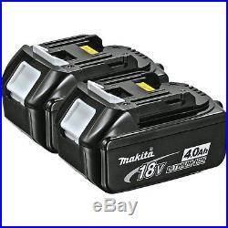 2x Makita BL1840B 18V 18 Volt LXT 4.0Ah Lithium Ion Batteries BL1840 Genuine