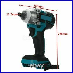 520N. M Cordless Brushless Impact Wrench 18V 1/2 For Makita Battery DTW285Z US