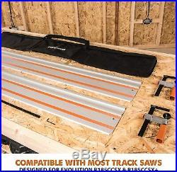Circular Saw Track Saw Guide Rail Set Plunge Festool Makita Bosch Scheppach 2.8m
