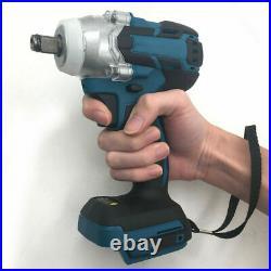 Cordless Brushless Impact Wrench 18V 520Nm 1/2 Body For Makita Battery DTW285Z