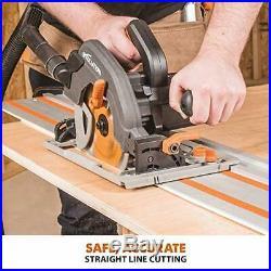 Evolution Power Tools ST1400 Circular Saw Guide Rail/Track Fits Makita, Bosch