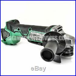 Hitachi Metabo-HPT G18DBALQ4M 18V CordlessBrushless Li-Ion 4-1/2 Angle Grinder