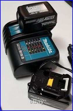 MAKITA 18V 18 VOLT Lithium Ion 3.0 AH BL1830B-2 & DC18SD Charger Combo Set NEW