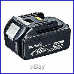MAKITA 18V LXT DTD146 DTD146Z IMPACT DRIVER AND 2 x BL1840 BATTERIES DTD152Z