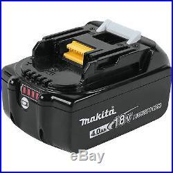 MAKITA 18-Volt 4Ah LXT LI-ION BRUSHLESS CORDLESS 2-PC COMBO KIT XT269M