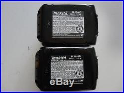MAKITA BL1840B-2 18V 18 Volt 4.0 AH Lithium Ion Battery pack Genuine BL1840B x2