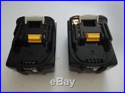 MAKITA BL1850B-2 18V 18 Volt Li-Ion 5.0 AH Battery packs New with Fuel BL1850B