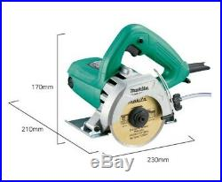 MAKITA Corded Electric Tile Cutter M4100M 1,200W 110mm 4inch 32mm Capacity nV