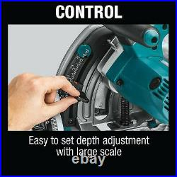 MAKITA SP6000J 6-1/2-Inch 12-Amp Corded Plunge Circular Saw with 48T Carbide Blade