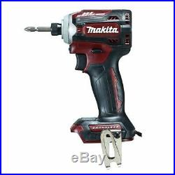 MAKITA TD171DZAR RED Rechargeable impact driver NO battery outer box BODY ONLY