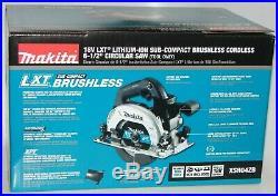 MAKITA XSH04ZB 18V LithiumIon SubCompact Brushless Cordless 61/2 Circular Saw