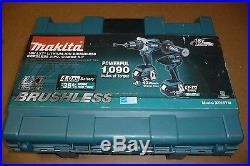 Makita Xt257m Drill/driver Impact Kit Brushless 18v Lithium Ion