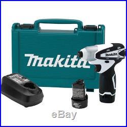 Makita 12V Max Lithium-Ion Cordless Impact Driver Kit DT01W New