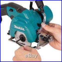 Makita 12V max 2.0 Ah CXT Li-Ion 3-3/8 in. Tile/Glass Saw Kit CC02R1 new