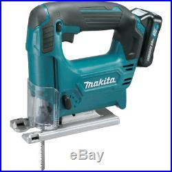 Makita 12V max 2.0 Ah CXT Li-Ion Cordless Jig Saw Kit VJ04R1 new