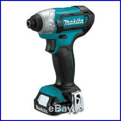 Makita 12V max CXT 2.0 Ah Li-Ion 3 Pc. Combo Kit CT321RX New