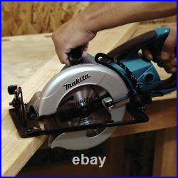 Makita 15.0 Amp 7-1/4 in. Hypoid Saw with Carbide-Tipped Blade 5477NB New