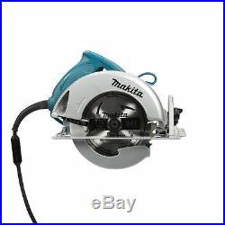 Makita 15 Amp Corded 7-1/4 in Teal Circular Saw Well-balanced design Double insu