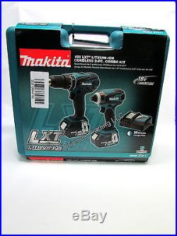 Makita 18V 18 Volt Lithium Ion Cordless HammerDrill & Impact Driver Combo XT211