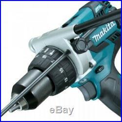 Makita 18V DHP481RTJ Lithium Ion BRUSHLESS Combi Hammer Drill + 2x 5.0ah Batts