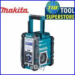 Makita 18V LXT 12V CXT DMR112 Job Site Radio Digital DAB+ Bluetooth USB Charger