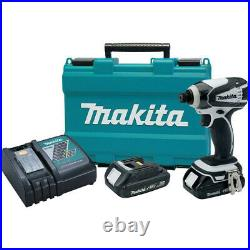 Makita 18V LXT 1/4 Impact Driver Kit XDT04RW (Tool Only) Certified Refurbished