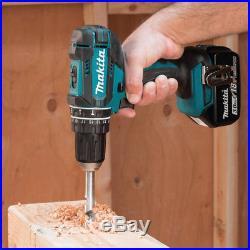 Makita 18V LXT 3.0 Ah Cordless Li-Ion 1/2 Hammer Driver Drill Kit XPH102 new