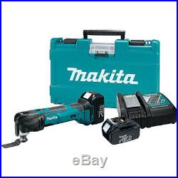 Makita 18V LXT 3.0 Ah Cordless Lithium-Ion Multi-Tool Kit XMT035 New