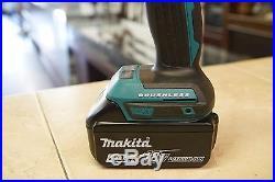 Makita 18V LXT 4.0 Ah Cordless Li-Ion Brushless 4-Piece Combo Kit Used Mint