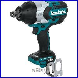 Makita 18V LXT Brushless 3/4 Square Drive Impact Wrench (Tool Only) XWT07Z New