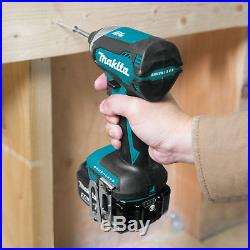 Makita 18V LXT Brushless Cordless Impact Driver Drill Power Tool Kit with Battery