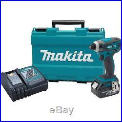 Makita 18V LXT Li-Ion 1/4 Impact Driver Kit XDT042