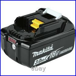 Makita 18V LXT Li-Ion 8-Tool Combo Kit (3 Ah) XT801X1 New