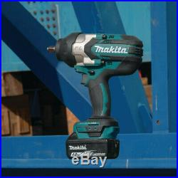 Makita 18V LXT Li-Ion BL 1/2 in. Sq. Dr. Impact Wrench (Tool Only) XWT08Z New