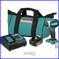Makita 18V LXT Li-Ion BL Imp Driver Kit XDT131-R Certified Refurbished