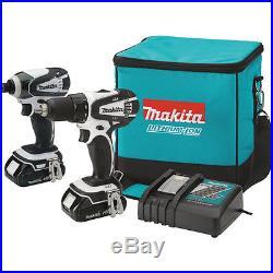 Makita 18V LXT Li-Ion Drill Driver/Impact Driver Combo Kit CT200RW New
