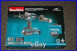 Makita 18V LXT LithiumIon Brushless Cordless1/2Hammer DriverDrill Kit XPH07MB