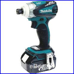Makita 18V LXT Lithium-Ion 3-Speed Impact Driver Kit and Bit Set LXDT01X1