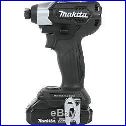 Makita 18V LXT Lithium-Ion Sub-Compact Brushless Cordless 2-Pc. Combo Kit