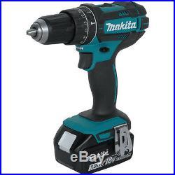 Makita 18V Li-Ion LXT 1/2 Cordless Hammer Drill & Impact Driver Combo